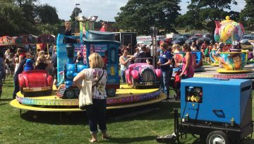 Goldthorpe Bolton Community Fun Day Rides