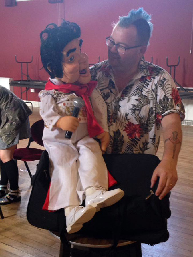 Goldthorpe Bolton Community Fun Day Ventriloquist