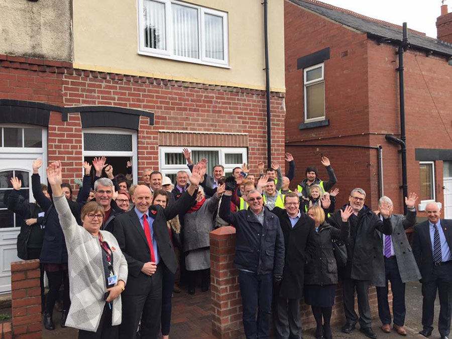 Dearne Community Housing - Work Complete