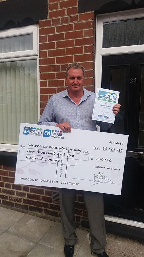 Dearne Community Housing - Efficiency North Award
