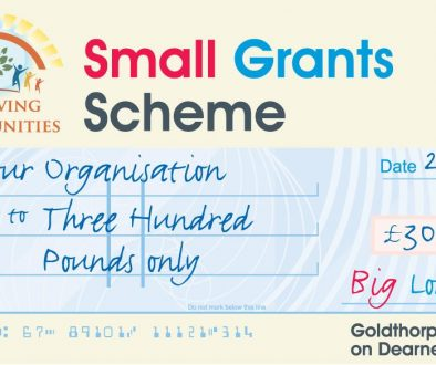 Goldthorpe and Bolton on Dearne Small Grants Scheme