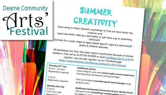 Summer Creative Arts Workshops News
