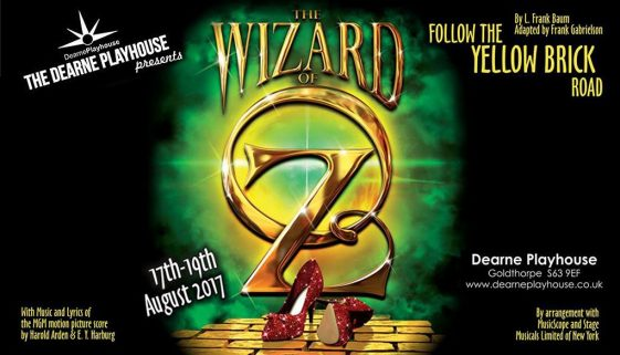 Wizard Of Oz @ The Dearne Playhouse, Goldthorpe