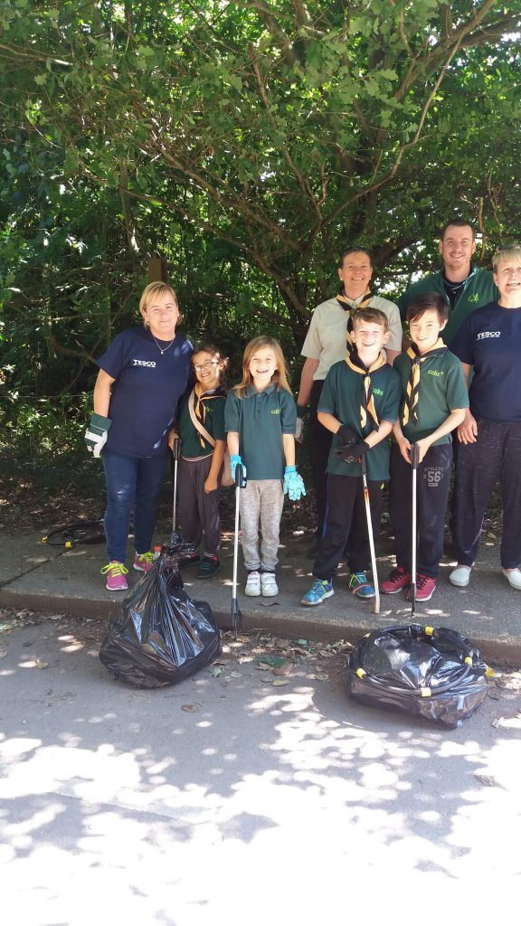 Goldthorpe Bolton Big Local Phoenix Park Underpass Clean Up