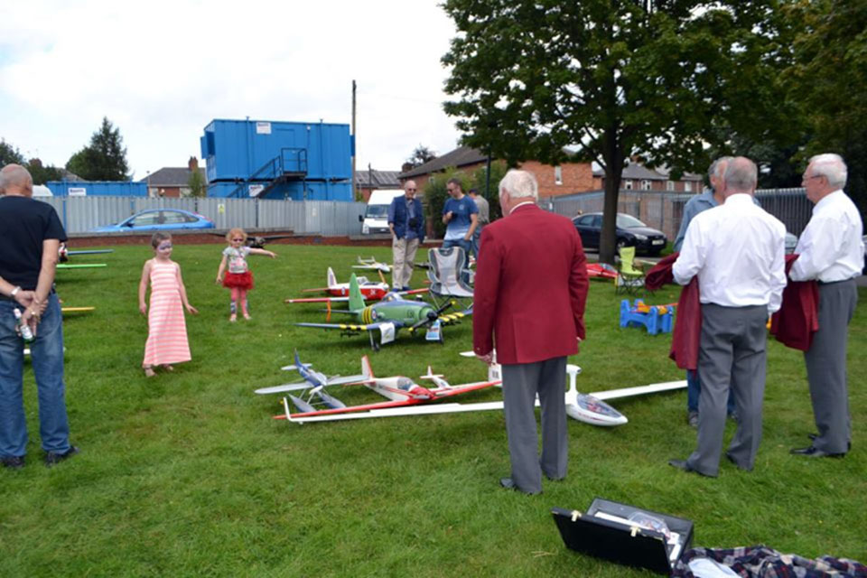 The Barnsley Model Flying Club