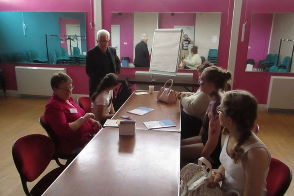 Ian McMillan Creative Writing Workshop