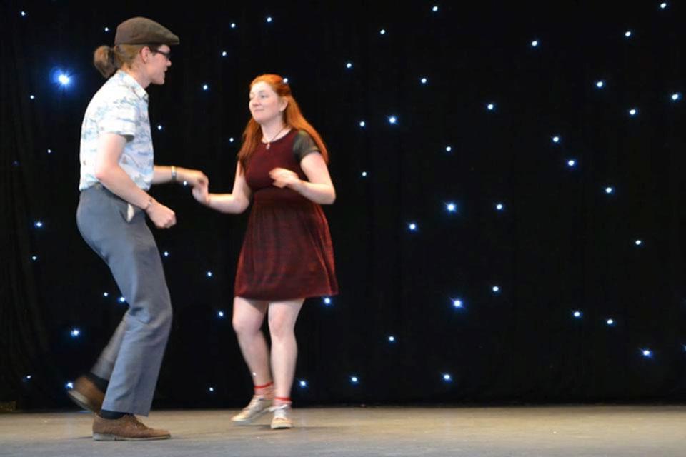 Dave Doyle & Krissy Moore, RotherHop Swing Dance