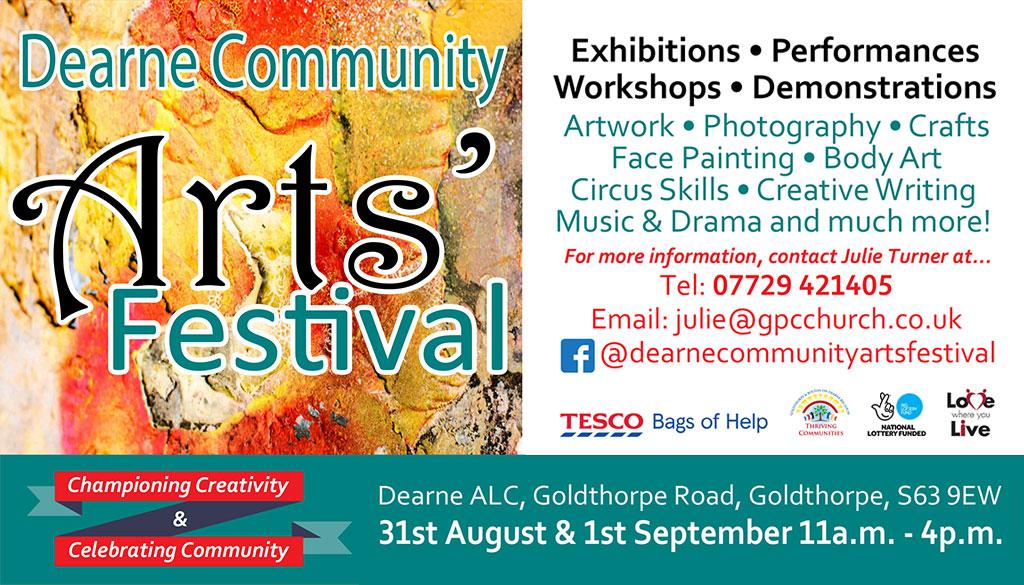 Dearne Community Arts Festival 2018